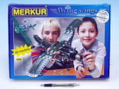 Merkur Stavebnice Flying wings 40 modelů 640ks v krabici 36x27x5cm