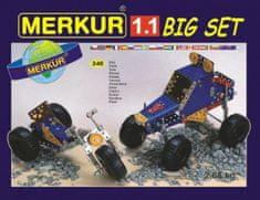 Merkur Stavebnice 1.1 10 modelů 240ks v krabici 36x26,5x5,5cm