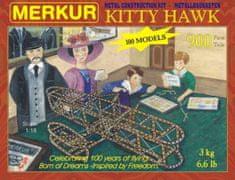 Merkur Stavebnice Kitty Hawk 100 modelů 900ks v krabici 36x27x5cm