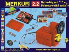 Merkur Stavebnice 2.2 Pohony a převody v krabici 36x27cm