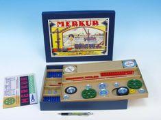 Merkur Stavebnice Classic C04 183 modelů v krabici 35,5x27,5x5cm