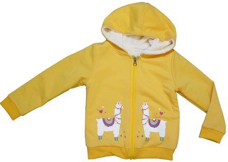 Carodel lány pulóver, 98, sárga