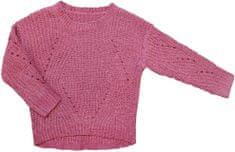 Carodel sweter dziewczęcy pleciony