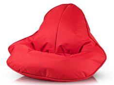 Vipera Sedací vak Evelyn polyester červená - polyester červená