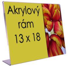 ZEP Akrylový rámik šírka 13x18