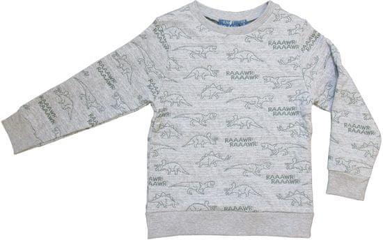 Carodel chlapecký svetr 92, šedá