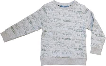 Carodel fiú pulóver, 98, szürke