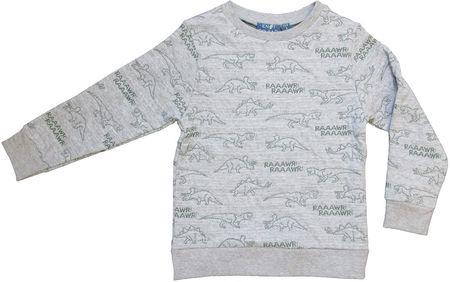 Carodel fiú pulóver, 104, szürke