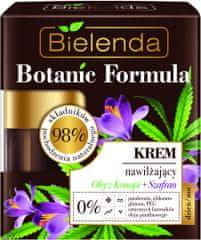 Bielenda BOTANIC FORMULA konopný olej a šafrán pleťový hydratačný krém deň/noc 50ml