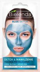 Bielenda BLUE DETOX tvárovacia maska pre suchú a citlivú pleť 8g