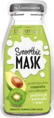 Bielenda SMOOTHIE MASK Prebiotic + Avokádo + Kiwi normalizujúca pleťová maska 10g