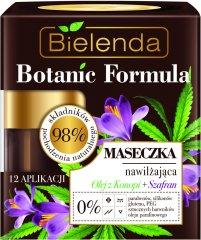 Bielenda BOTANIC FORMULA konopný olej a šafrán hydratačná pleťová maska 50ml