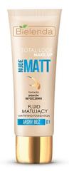 Bielenda TOTAL LOOK MAKE-UP Nude Matt zmatňujúci make-up 30g
