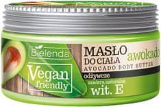 Bielenda VEGAN FRIENDLY Avocado + Vitamín E telové maslo 250ml