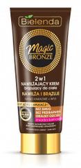 Bielenda MAGIC BRONZE 2v1 Hydratačný telový krém na tmavú pleť 200ml