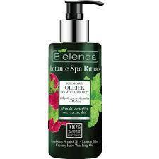 Bielenda BOTANIC SPA RITUALS Malina krémový olej na umývanie tváre 140ml