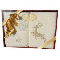 Issimo Vánoční ručníky JELEN