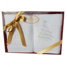 Issimo Vánoční ručníky Stromeček