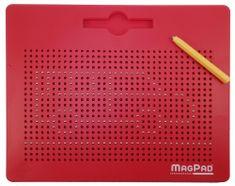 Magnetická tabuľka Magpad BIG 714 guličiek červená