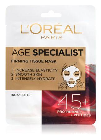 Loreal Paris Age Specialist 45+ maska v robčku
