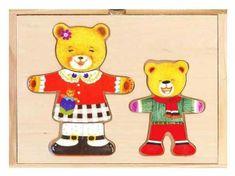 TOP BRIGHT Oblékání Medvědice s medvídkem