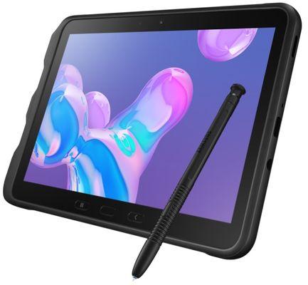 Odolný tablet Samsung Galaxy Tab Active Pro, odolný, IP68, MIL-STD 810G, vodotěsný, odolný proti nárazu, S Pen dotykové pero, stylus, čtečka otisků prstů, odemykání obličejem, 10 palců, NFC, rozšířená realita, AR, Wi-Fi, LTE