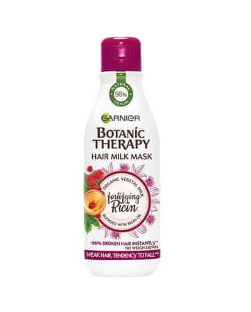 Garnier Botanic Therapy Hair Milk maska z ricinusovim oljem, za lase nagnjene k lomljenju, 250 ml