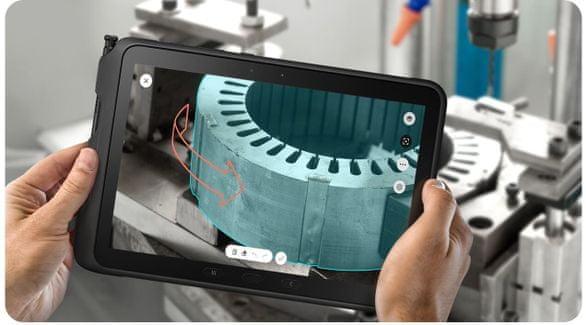 Odolný tablet Samsung Galaxy Tab Active Pro, rozšířená realita, augmented reality, AR, NFC, stylus, dotykové pero S Pen