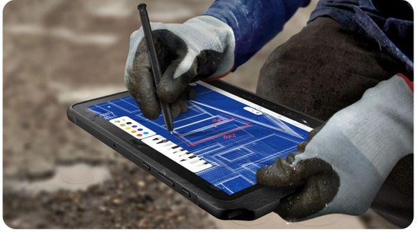 Odolný tablet Samsung Galaxy Tab Active Pro, krytí IP68, vojenský standard MIL-STD 810G, vodotěsný, odolný proti nárazům