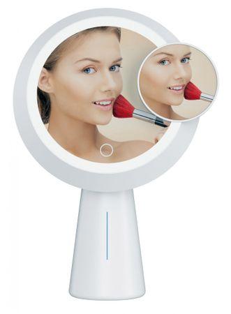 Platinet PMLY19 Makeup kozmetično ogledalo s stojalom, LED osvetlitev