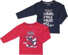 Carodel komplet 2 koszulek dziecięcych