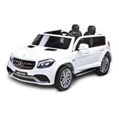 TOYZ Elektrické autíčko Toyz MERCEDES GLS63 - 2 motory white Biela