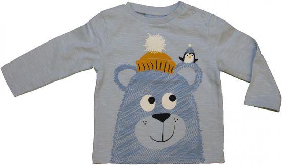 Carodel detské tričko 62 svetlomodré