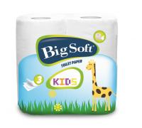 Moracell Big Soft Kids Toaletní papír, 3 vrstvy - 4 ks