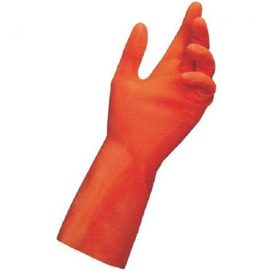 Mapa Professionnel MAPA Duo-Nit 180 latexové rukavice s odolností proti olejům - velikost 8
