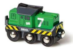 Brio Elektrická lokomotíva zelená