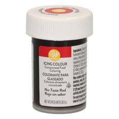 Wilton Gelová barva tmavě červená bez příchutě 28g