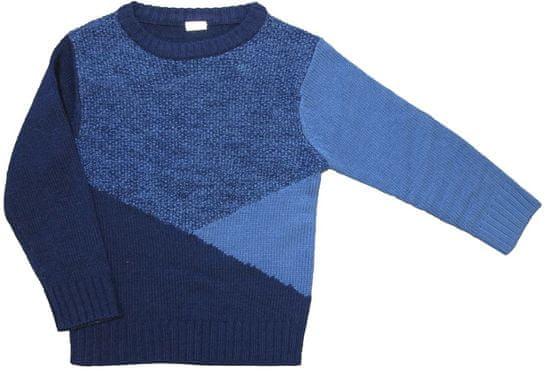 Carodel chlapecký svetr 116 modrá