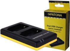 PATONA Nabíječka Foto Dual Quick Canon LP-E17 USB (PT1939)