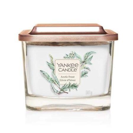 Yankee Candle Aromatična sveča srednji kvadrat Arctic Frost 347 g