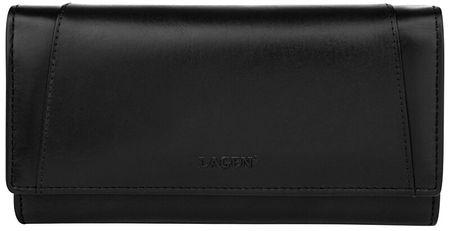 Lagen Dámska kožená peňaženka BLC-3736-118 Blk