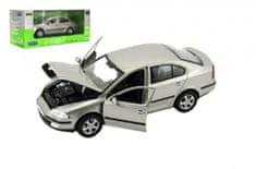 Dromader Auto Welly Škoda Octavia kov/plast 1:24 v krabici 23x10x11cm