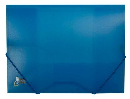 Blue Link mapa z elastiko, A4, modra (02200)