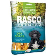 RASCO Pochoutka tyčinky bůvolí obalené kuřecím masem 230 g