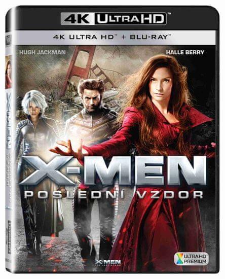 X-Men: Poslední vzdor (4K Ultra HD) - UHD Blu-ray + Blu-ray (2 BD)