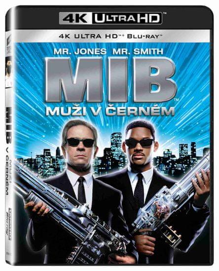 Muži v černém (4K Ultra HD) - UHD Blu-ray + Blu-ray (2 BD)