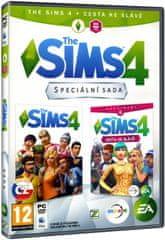 The Sims 4 + Cesta ke slávě Bundle (základní hra + rozšíření) - PC
