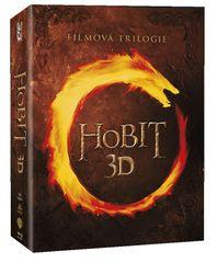 Hobit 1-3 Kolekce (12 BD) - Blu-ray 3D + 2D