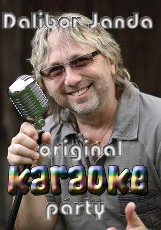 DALIBOR JANDA: ORIGINAL KARAOKE PÁRTY - DVD