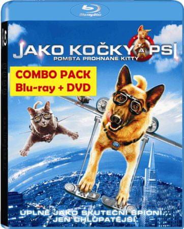 JAKO KOČKY A PSI: POMSTA PROHNANÉ KITTY - Blu-ray+DVD